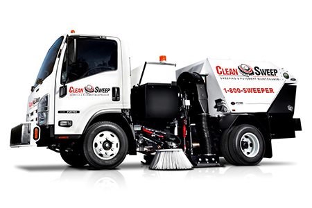 Clean Sweep Power Sweeping Truck - Louisiana