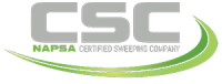 Clean Sweep, Inc. holds a National Certification - Certified Sweeping Company by North American Power Sweeping Association