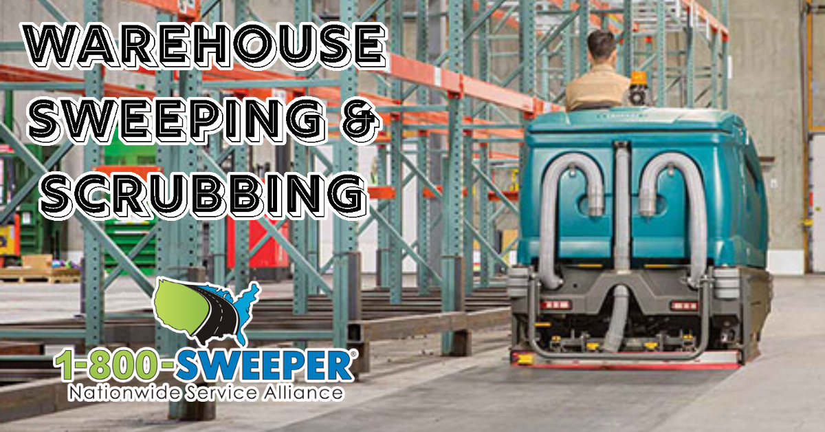 Warehouse Sweeping & Scrubbing